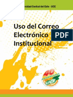 Uso del correo electrónico institucional