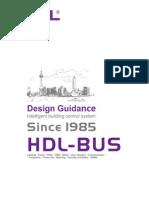 Design Manual for HDL Bus System