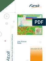 Atoll 3.1.0 User Manual Radio E3
