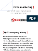 Data Driven Marketing - the Key to an Effective Marketing Campaign