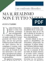 Luca Taddio - Corriere Della Sera 27.09