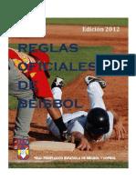 2012 Reglas Oficiales de Beisbol