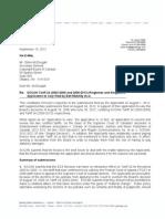 T.24 - SOCAN Response to Appn ToVary, September 10, 2012 Ltr to Gilles McDougall-OTT_LAW-3299187-V5