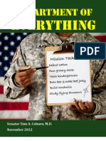 Coburn report on Pentagon waste
