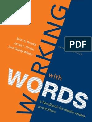 0312560796 Words | Part Of Speech | Predicate (Grammar)