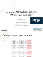AdTech Media Attribution