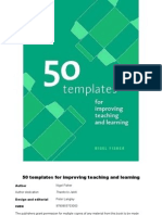 50 Templates for Improving Teaching and Learning