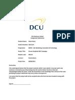 IMC Makrketing Communications Plan - Eircom.docx