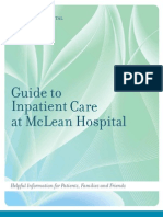 Guide to Inpatient Care at McLean