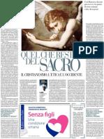 Vito Mancuso Sull'Ultimo Libro Di Umberto Galimberti - Repubblica 15.11.2012