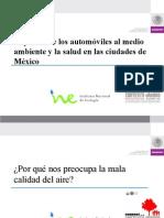 Impactos de los automóviles al medioambiente y la salud en las ciudades de México
