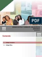 Codigo Conducta Etica Valuacion Inmuebles