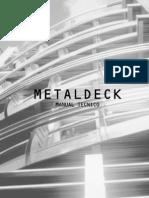 Manual Tecnico de Metaldeck
