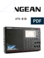 Sangean Ats818 Shortwave Radio