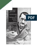 Bertold Brecht - Ascensiunea lui Arturo Ui poate fi oprita