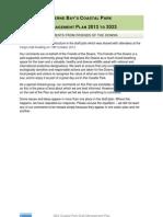 QEII Management Plan - FotD Draft Response