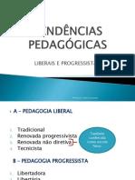 TENDÊNCIAS PEDAGÓGICAS-slide trabalhado pela prof. Kátia-6° per.