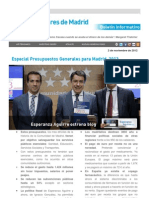 2012_11_02 Presupuestos Generales Madrid 2013