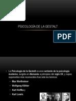psicologia de gestalt