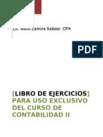 Libro de Ejercicios de Contabilidad II