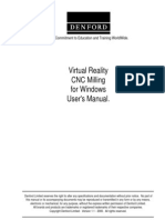 Vr Milling Software Manual