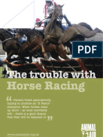 The trouble with horse racing