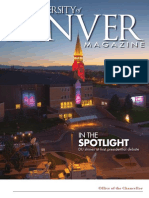 University of Denver Magazine Winter 2012