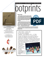 November 2012 Footprints