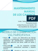 Mantenimiento Manual