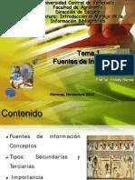 Clase3 Fuentes Secundarias Terciarias