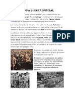 La segunda guerra mundial para niños