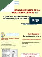 1  EDILBERTO BARDALES - ECE 2011 Lambayeque 15-5-12 - Proyección