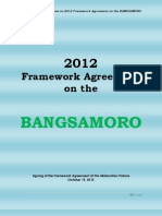 Frequently Ask Questions on 2012 Framework Agreement on the BANGSAMORO