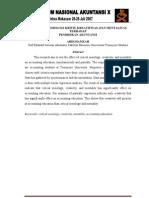 Pengaruh Sosiologis Kritis, Kreatifitas Dan Mentalitas Terhadap Pendidikan Akuntansi