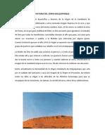 Historia Del Cerro Kolqueparque