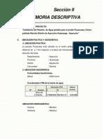 2.0 Memoria Descriptiva-Texto Final