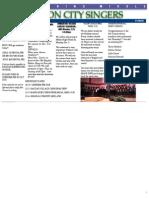 Newsletter 11-15-12