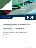 Chemistry Practical Alternative SAMs
