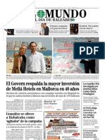 1-10-2011 El Govern respalda la mayor inversión de Meliá Hotels en Mallorca en 40 años