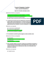 Act. 8 Leccion Evaluativa 2 - Fundamentos de Economia