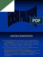Diapositivas Genero Policiaco