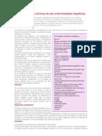 Manifestaciones clínicas de las enfermedades hepáticas