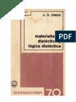 50223510 Materialismo Dialectico y Logica Dialectica Aleksandr Georgievich Spirkin