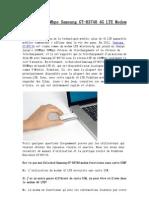 FAQ Pour 100Mbps Samsung GT-B3740 4G LTE Modem