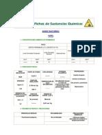Ficha Quimica Acido Sulfurico