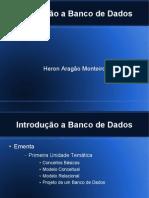 Introd a Bancos de Dados