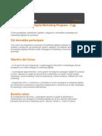 Executive Digital Marketing Program