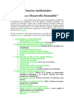 Ecologia y Desarrollo Siostenible