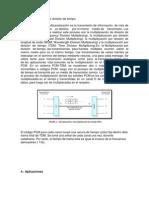 TDM multiplexación por división de tiempo