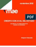CAE - Analisis de Las Consecuencias Del Arancel de Referencia